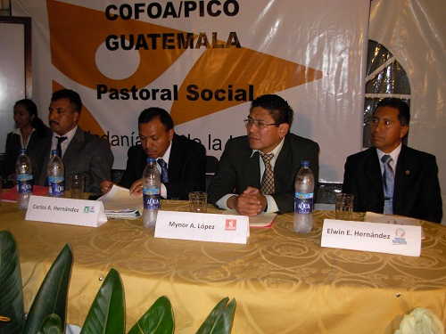 Guatemala Leaders Hold A Successful Candidates' Forum