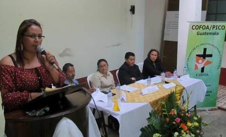 COFOA Leaders In Guatemala Meet With Candidates For Mayor