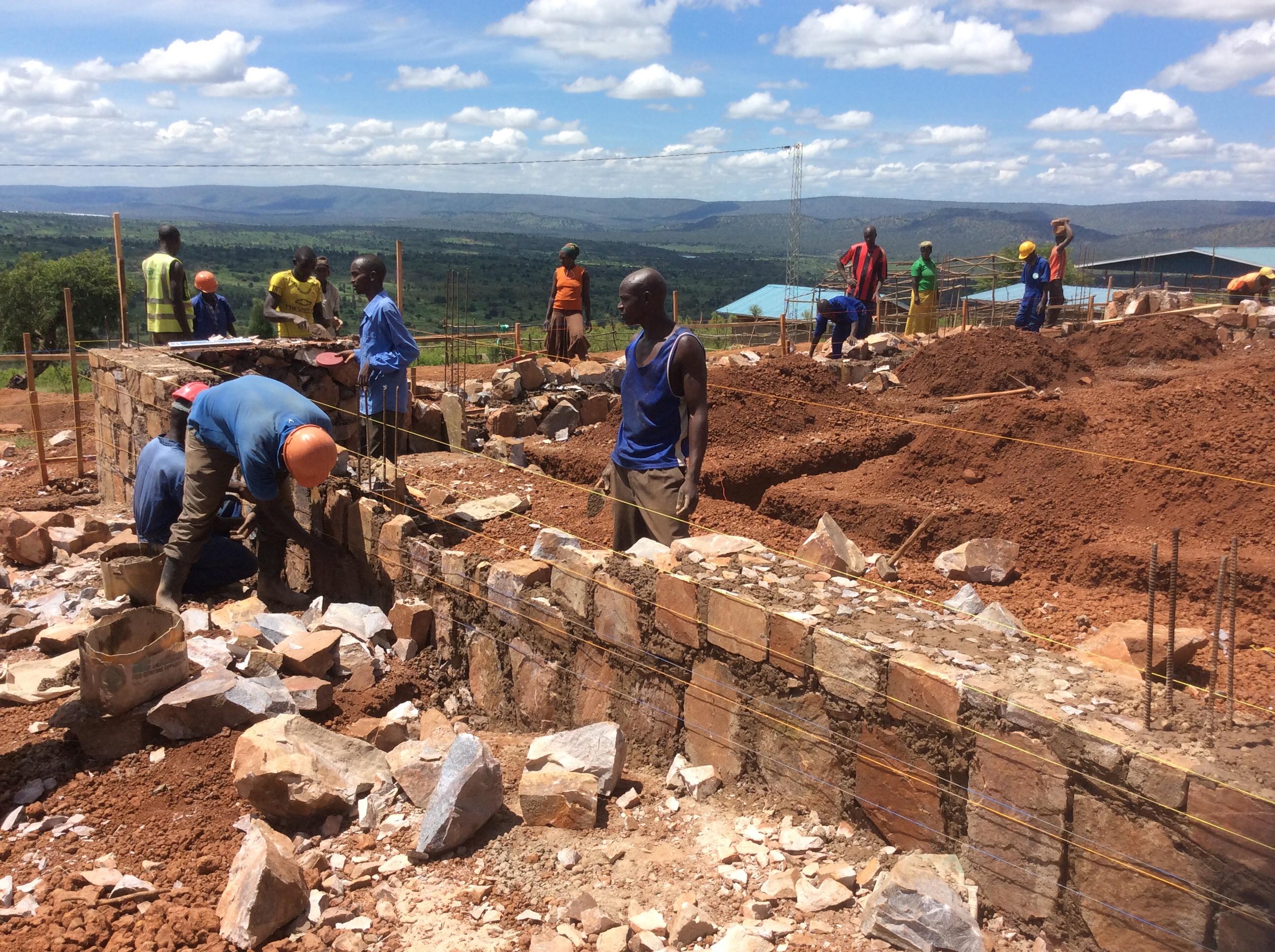 Amazing Progress On The Health Clinic In Rusumo