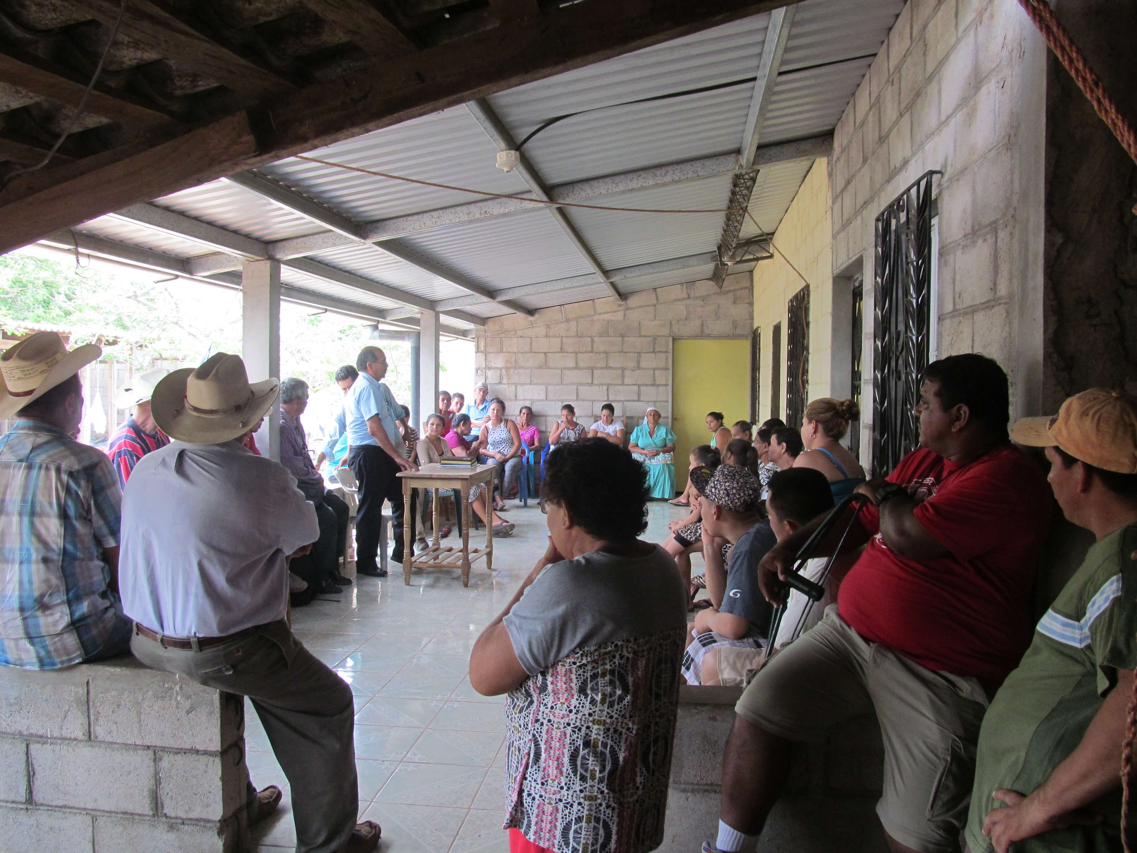 San Marcos Lempa Leaders Continue Fight For Dignity