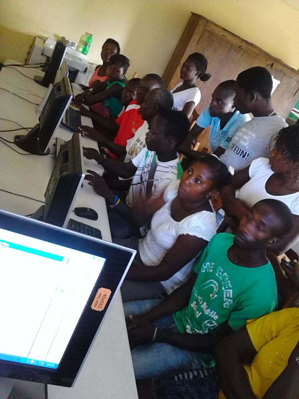OPODNE Leaders Open Computer Training Centers And Deliver Medical Supplies To Local Communities
