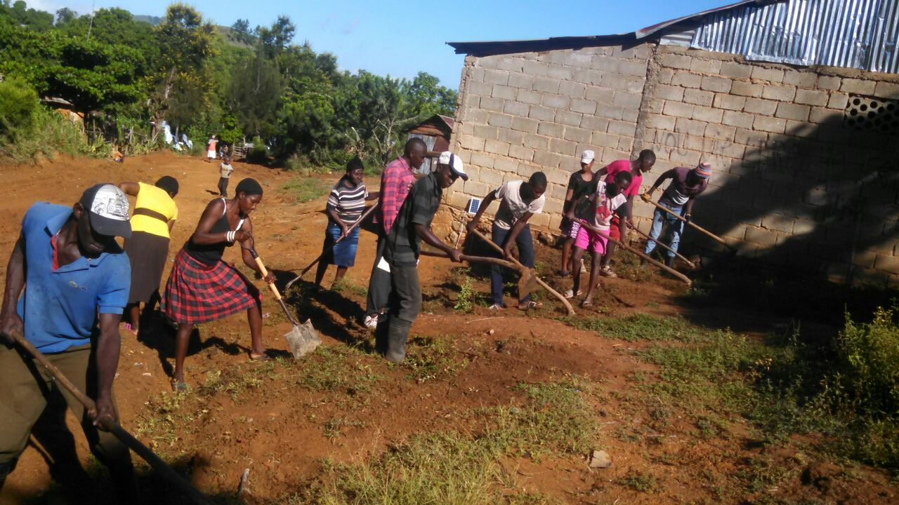 New Road In Mombin Crochu Is Being Built By PICO Haiti Leaders