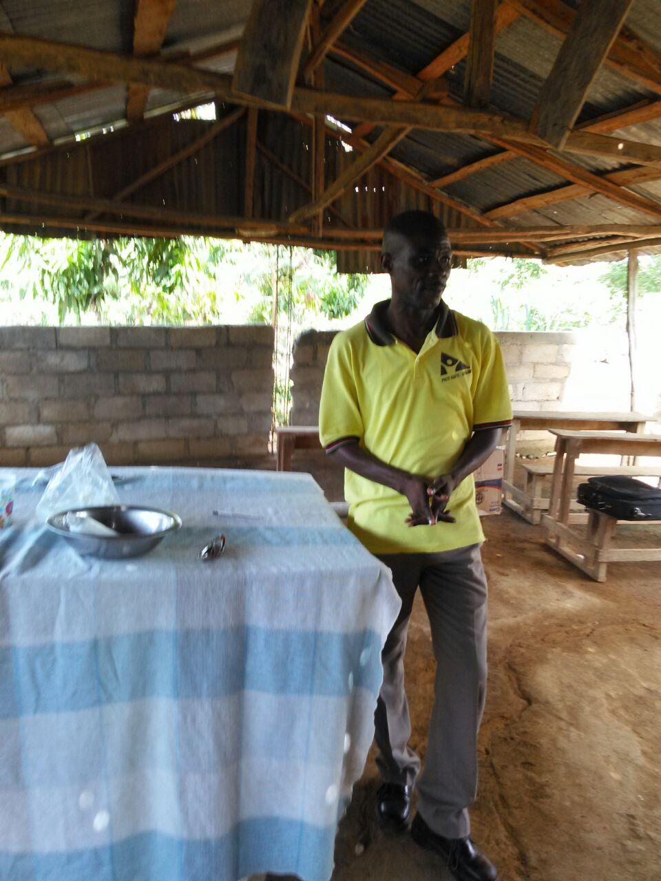 OPODNE Leaders Address Cholera Crisis In Mombin Crochu