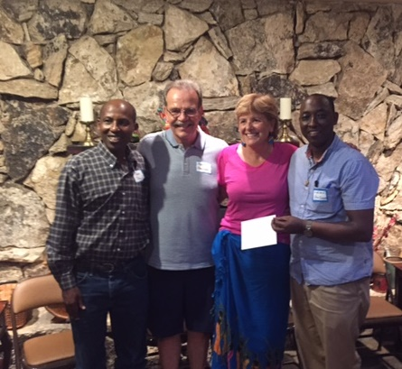 Thanks To The Generous People Who Hosted Fundraising Receptions For Pr. John And PICO Rwanda
