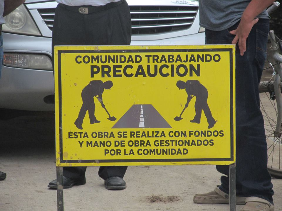 Jaquilisco Residents Fix Even More Roads