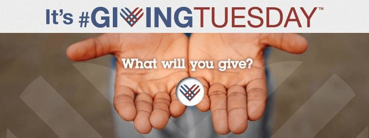 On #GivingTuesday We Celebrate Your Generosity.