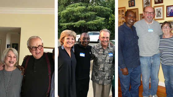 Thank You Generous Friends Who Hosted PICO Rwanda Receptions