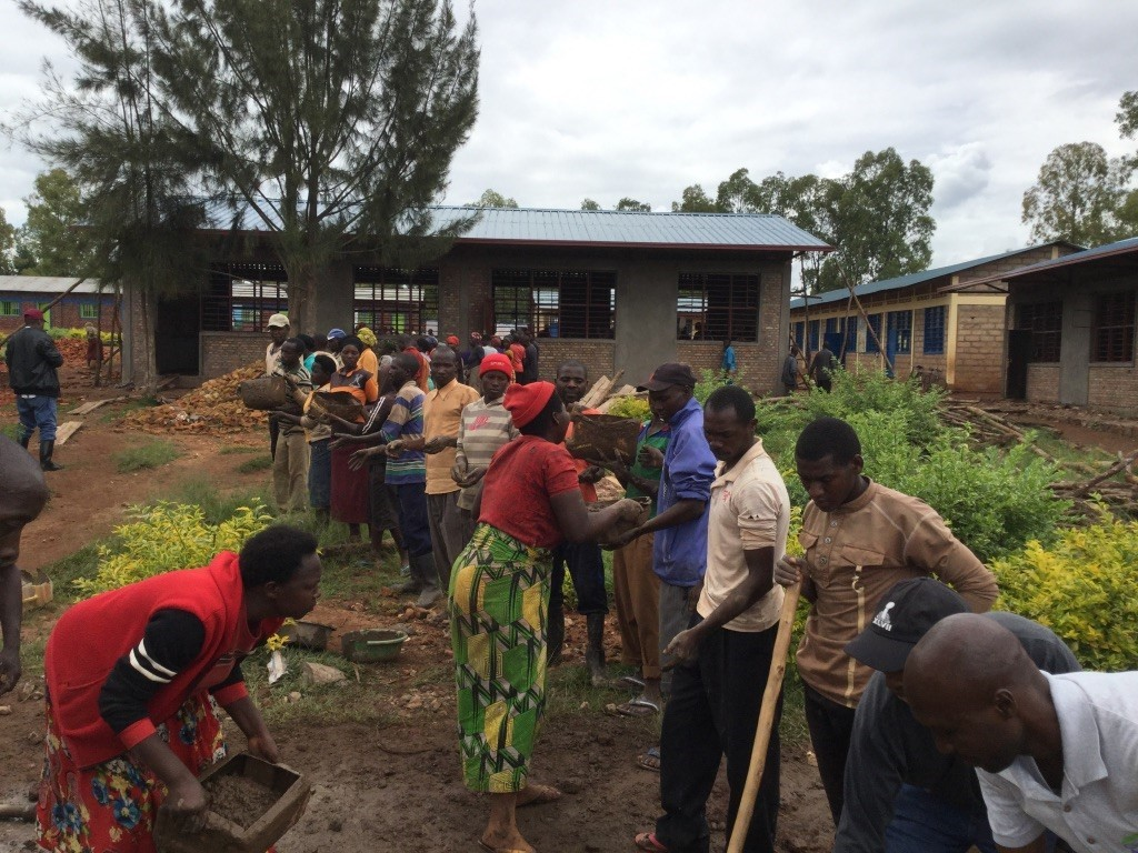 Leaders Organize Five Villages To Build New School Facilities