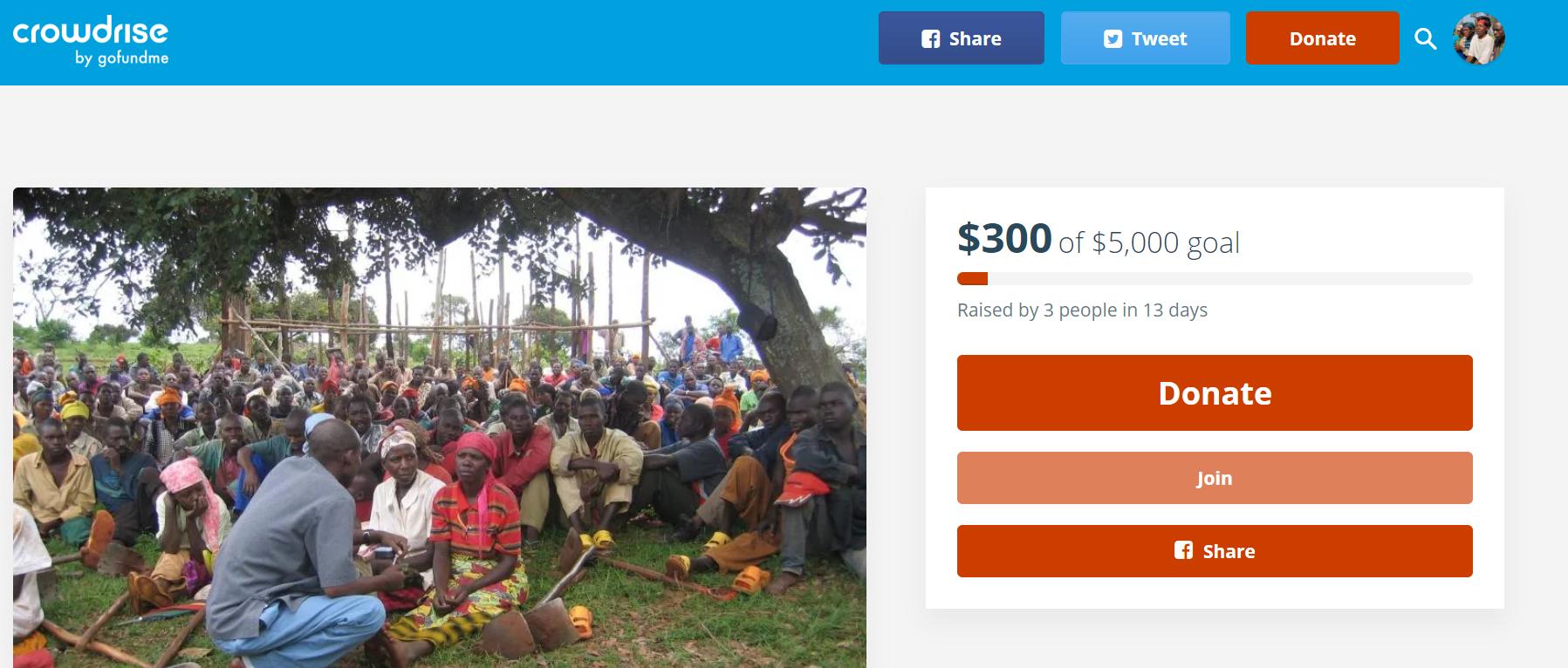 Launching A Crop-selling Venture In Mumeya