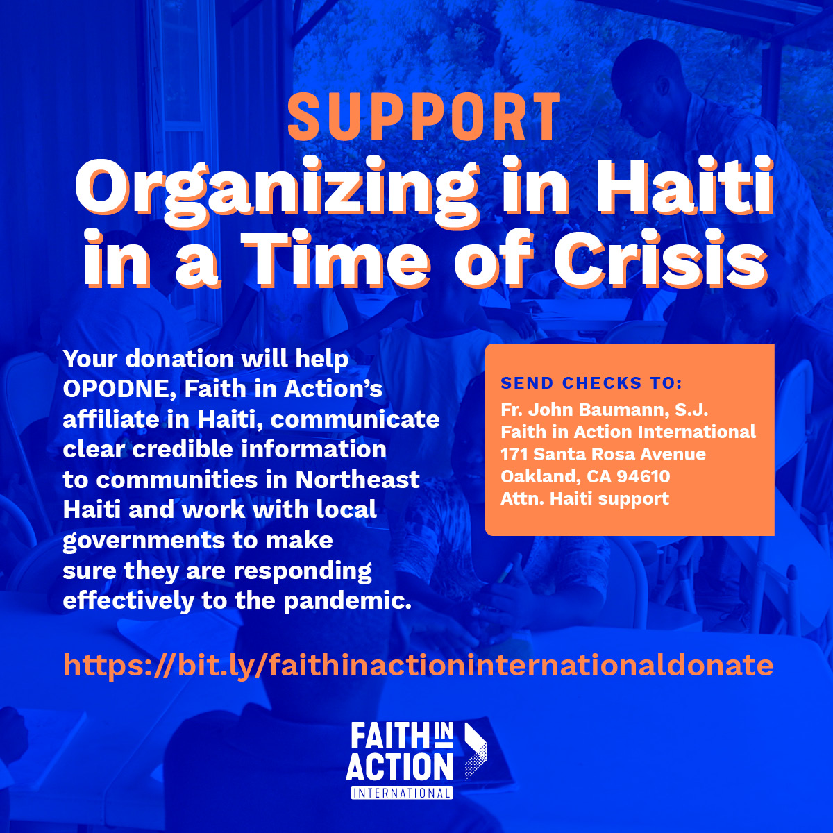 Support Organizing In A Time Of Crisis In Haiti