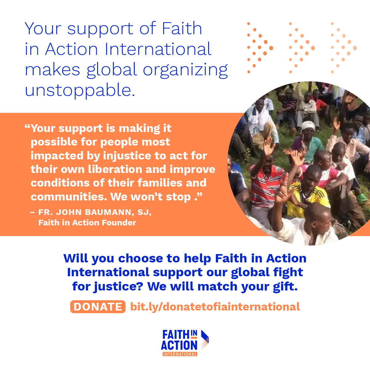 Please Join Us In Supporting Grassroots Leaders Across The Globe
